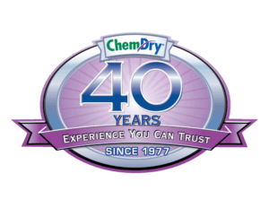 40 years of carpet cleaning experience you can trust badge