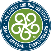 carpet and rug cleaning institution seal