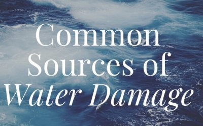 Common Sources of Water Damage