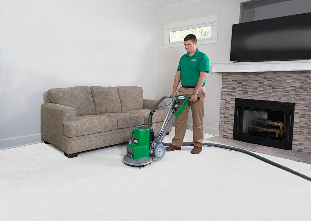 carpet cleaning waterflow