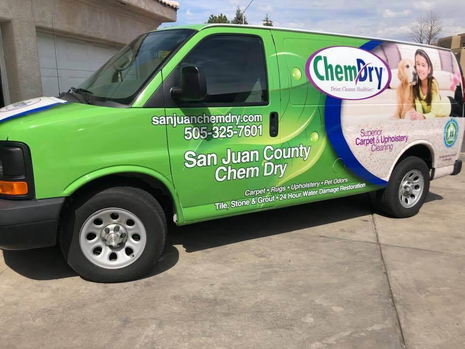 San Juan County Chem-Dry Van