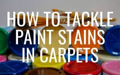 How to Tackle Paint Stains in Carpets