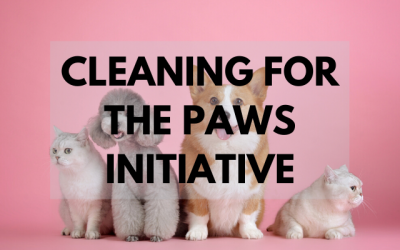 Cleaning For The Paws Initiative