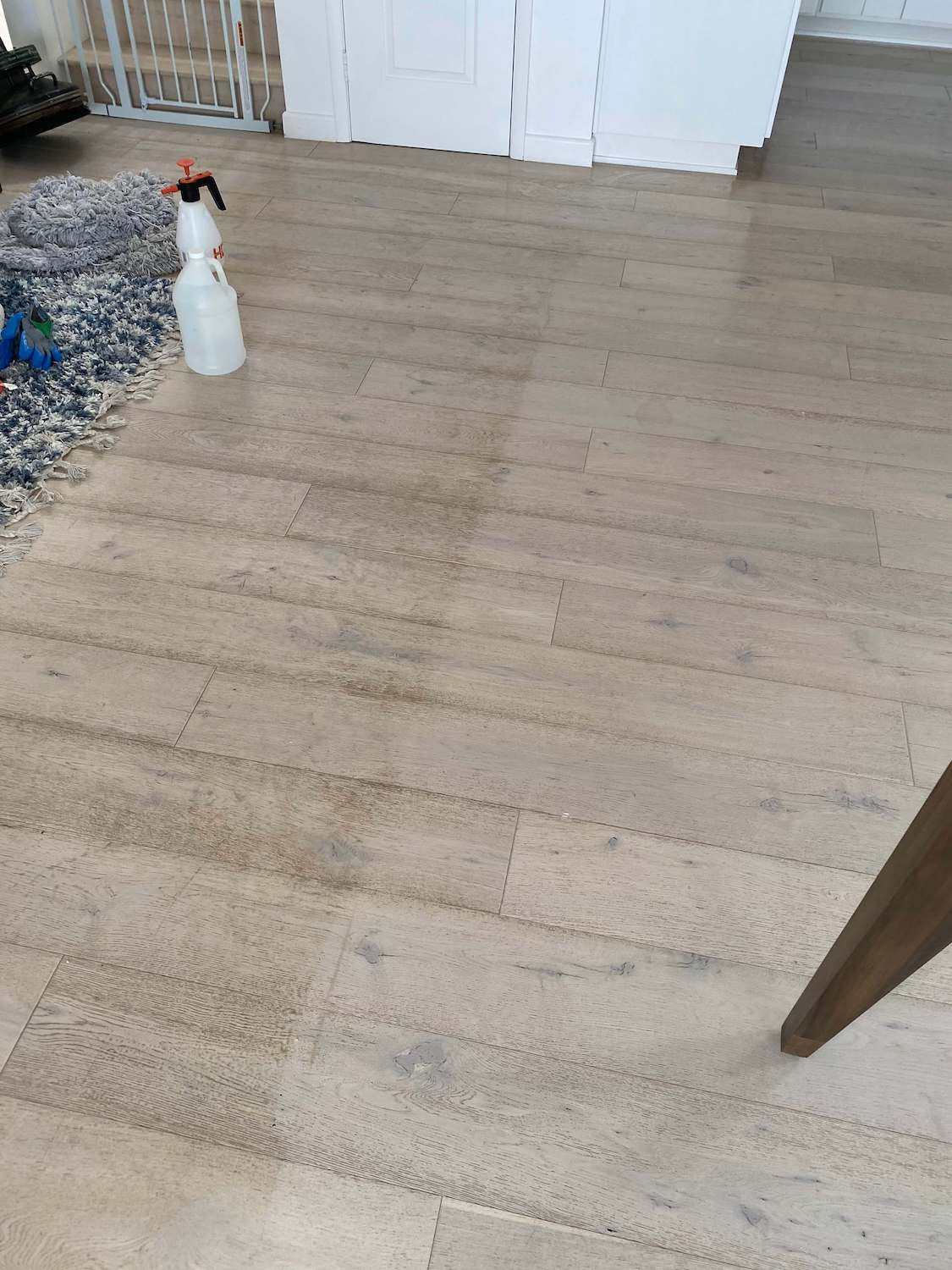 hardwood floor cleaning removes bacteria, allergens, and dirt
